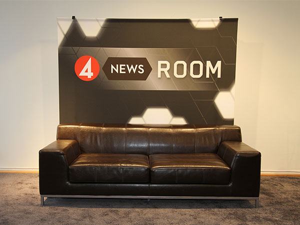 TV4 News Room